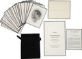 Political:Presidential Relics, John F. Kennedy: Funeral Announcement and Nineteen Funeral Mass Cards.... (Total: 21 Items)