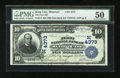 National Bank Notes:Missouri, King City, MO - $10 1902 Date Back Fr. 619 The First NB Ch. #(M)4373. ...