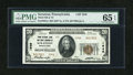 National Bank Notes:Pennsylvania, Scranton, PA - $20 1929 Ty. 2 The Third NB and Trust Company Ch. #1946. ...