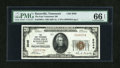 National Bank Notes:Tennessee, Knoxville, TN - $20 1929 Ty. 1 The East Tennessee NB Ch. # 2049....