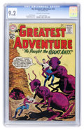 Silver Age (1956-1969):Science Fiction, My Greatest Adventure #55 Slobodian pedigree (DC, 1961) CGC NM- 9.2 Off-white to white pages....