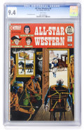 Bronze Age (1970-1979):Western, All-Star Western #9 Slobodian pedigree (DC, 1972) CGC NM 9.4 White pages....
