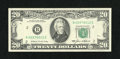 Error Notes:Obstruction Errors, Fr. 2075-B $20 1985 Federal Reserve Note. Choice AboutUncirculated.. ...