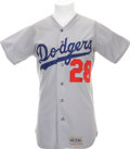 Baseball Collectibles:Uniforms, 1974 Mike Marshall Game Worn Jersey....