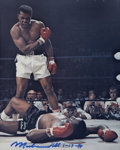 "Boxing Collectibles:Autographs, Muhammad Ali Signed 8"" x 10"" Photograph. ..."