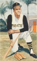 Autographs:Others, Circa 1971 Roberto Clemente Signed Image....