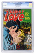 Golden Age (1938-1955):Romance, First Love Illustrated #43 File Copy (Harvey, 1954) CGC NM 9.4Cream to off-white pages....