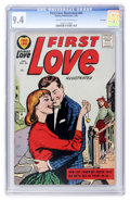 Silver Age (1956-1969):Romance, First Love Illustrated #84 File Copy (Harvey, 1958) CGC NM 9.4Cream to off-white pages....