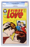 Silver Age (1956-1969):Romance, First Love Illustrated #89 File Copy (Harvey, 1962) CGC NM+ 9.6Cream to off-white pages....