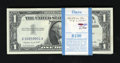 Small Size:Silver Certificates, Fr. 1620 $1 1957A Silver Certificates. Original Pack of 100. Choice Crisp Uncirculated.. ... (Total: 100 notes)