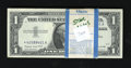 Small Size:Silver Certificates, Fr. 1620* $1 1957A Silver Certificates. Original Pack of 100. Choice Crisp Uncirculated.. ... (Total: 100 notes)