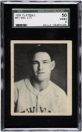 Baseball Cards:Singles (1930-1939), 1939 Play Ball Mel Ott #51 SGC 50 VG/EX 4....