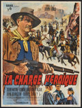 """Movie Posters:Western, She Wore a Yellow Ribbon (Rank, R-1963). French Petite (23.5"""" X 31.5""""). Western.. ..."""