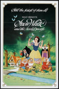 "Movie Posters:Animated, Snow White and the Seven Dwarfs (Buena Vista, R-1983). One Sheet (27"" X 41"") and Pressbook (Multiple Pages) (10.5"" X 14""). A... (Total: 2 Items)"
