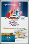 Movie Posters:Animated, The Sword in the Stone/ Winnie the Pooh and a Day for Eeyore ComboLot (Buena Vista, R-1983). One Sheets (2) (2... (Total: 2 Items)