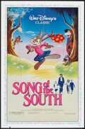 "Movie Posters:Animated, Song of the South Lot (Buena Vista, R-1986). One Sheets (2) (27"" X 41""). Animated.. ... (Total: 2 Items)"