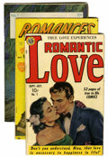 Golden Age (1938-1955):Romance, Miscellaneous First Issue Romance Group (Various Publishers,1946-53) Condition: Average VG.... (Total: 10 Items)