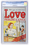 Golden Age (1938-1955):Romance, True Love Problems and Advice Illustrated #1 File Copy (Harvey,1949) CGC VF 8.0 Light tan to off-white pages....