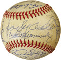 Autographs:Baseballs, 1984 Detroit Tigers Team Signed Baseball. ...