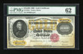 Large Size:Gold Certificates, Fr. 1225c $10000 1900 Gold Certificate PMG Uncirculated 62....