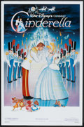 "Movie Posters:Animated, Cinderella Lot (Buena Vista, R-1987). One Sheets (3) (27"" X 41"") and Poster (30"" X 40""). Animated.. ... (Total: 4 Items)"