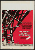 "Movie Posters:War, The Bridge On The River Kwai (Columbia, 1958 and R-1963). LobbyCard (11"" X 14"") and Window Card (14"" X 19.5""). War.. ... (Total: 2Items)"