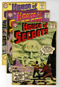 Silver Age (1956-1969):Mystery, House of Secrets Group (DC, 1958-60) Condition: Average VG+....(Total: 6 Comic Books)