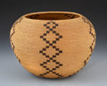 American Indian Art:Baskets, A WASHOE COILED DEGIKUP. Scees Bryant . c. 1915...