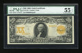 Large Size:Gold Certificates, Fr. 1181 $20 1906 Gold Certificate PMG About Uncirculated 55EPQ....