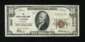 National Bank Notes:Wyoming, Casper, WY - $10 1929 Ty. 1 The Casper NB Ch. # 6850. ...
