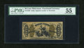 Fractional Currency:Third Issue, Fr. 1346 50c Third Issue Justice PMG About Uncirculated 55....