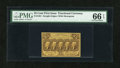 Fractional Currency:First Issue, Fr. 1281 25c First Issue PMG Gem Uncirculated 66 EPQ....