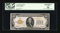 Small Size:Gold Certificates, Fr. 2405 $100 1928 Gold Certificate. PCGS Apparent Very Fine 30.. ...