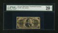Fractional Currency:Third Issue, Fr. 1299 25c Third Issue PMG Very Fine 20 Net....