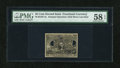 Fractional Currency:Second Issue, Milton 2E25F.3e Second Issue 25¢ Experimental PMG Choice About Unc 58 EPQ...
