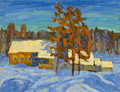 Fine Art - Painting, Russian:Contemporary (1950 to present), ALFRED SMIRNOV (Russian, b. 1928). Evening Sunlight, 1979.Oil on cardboard laid on masonite. 16-1/2 x 21-1/2 inches (41...