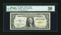 Small Size:World War II Emergency Notes, Fr. 2306* $1 1935A North Africa Silver Certificate. PMG Very Fine 30.. ...