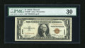 Small Size:World War II Emergency Notes, Fr. 2300* $1 1935A Hawaii Silver Certificate. PMG Very Fine 30.. ...