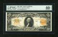 Large Size:Gold Certificates, Fr. 1187 $20 1922 Gold Certificate PMG Extremely Fine 40 EPQ....
