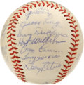 Autographs:Baseballs, 1964 Chicago White Sox Team Signed Baseball. Led by Hall of Fameskipper Al Lopez, the 1964 Chicago White Sox fought their ...