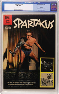 Four Color #1139 Spartacus (Dell, 1960) CGC NM 9.4 Off-white pages
