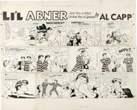 Al Capp - Li'l Abner Sunday Comic Strip Original Art, dated 12-18-60 (United Feature Syndicate, 1960)