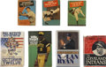 Autographs:Others, Baseball Legends Signed Books Collection Of 7....