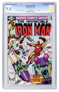 Iron Man #140 (Marvel, 1980) CGC NM/MT 9.8 Off-white to white pages