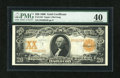 Large Size:Gold Certificates, Fr. 1183 $20 1906 Gold Certificate PMG Extremely Fine 40....