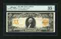 Large Size:Gold Certificates, Fr. 1186 $20 1906 Gold Certificate PMG Choice Very Fine 35 EPQ....