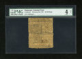 Colonial Notes:Delaware, Delaware February 28, 1746 20s PMG Good 4 Net....