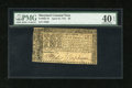 Colonial Notes:Maryland, Maryland April 10, 1774 $8 PMG Extremely Fine 40 EPQ....