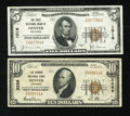 National Bank Notes:Colorado, Denver, CO - $5 1929 Ty. 1 The First NB Ch. # 1016 and $10 1929 Ty.1 The Denver NB Ch. # 3269. ... (Total: 2 notes)