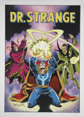 Original Comic Art:Covers, Frank Brunner Marvel Premiere #13 Doctor Strange CoverRecreation Original Art (2000)....